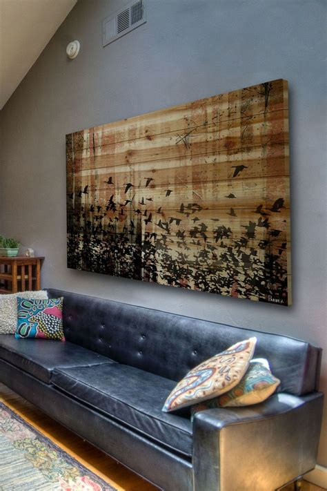 latest decor trend  large scale wall art ideas digsdigs