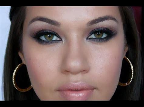 mila kunis smoky eyes makeup tutorial youtube
