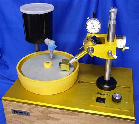 Facetron Faceting Machine - The International Faceting Academy