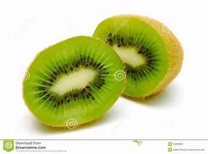 Kiwi Fruit Cut In Half Royalty Free Stock Photography ...