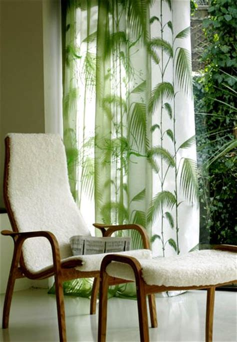 palm tree curtains for the home