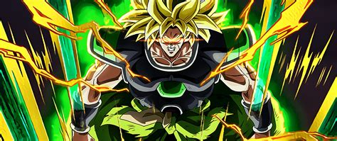 broly super saiyan dragon ball super broly