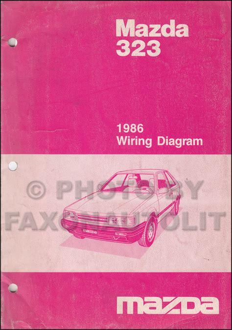 Mazda Repair Shop Manual Original