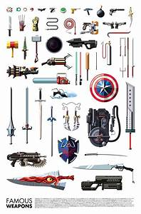 Famous Weapons Used By Superheroes & Villains - ChurchMag