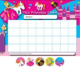 Princess Sticker Reward Chart
