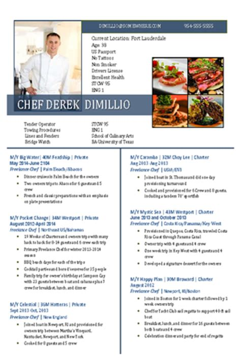resume for chef 1000 images about resume on