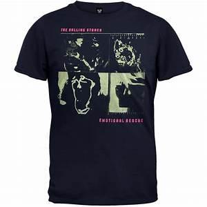 Tee Shirt Rolling Stones : rolling stones emotional rescue adult mens t shirt ebay ~ Voncanada.com Idées de Décoration