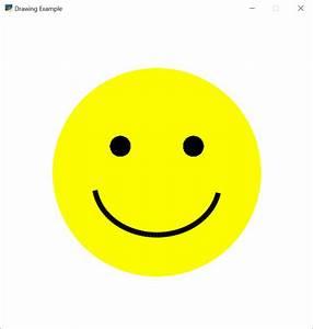 Happy Face — Arcade 2.1.2 documentation