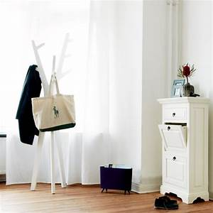 Baumstamm Als Garderobe : moderne flurm bel ausgefallene garderobe ideen ~ Frokenaadalensverden.com Haus und Dekorationen