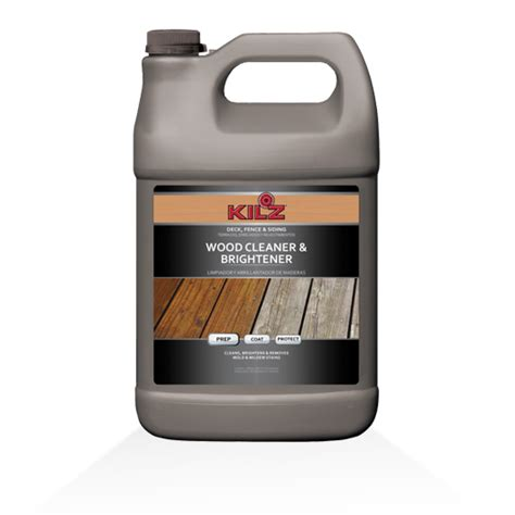 kilz wood cleaner brightener kilz