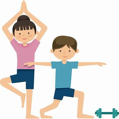 Exercise Cartoon Physical Workout Transparent Health Fitness