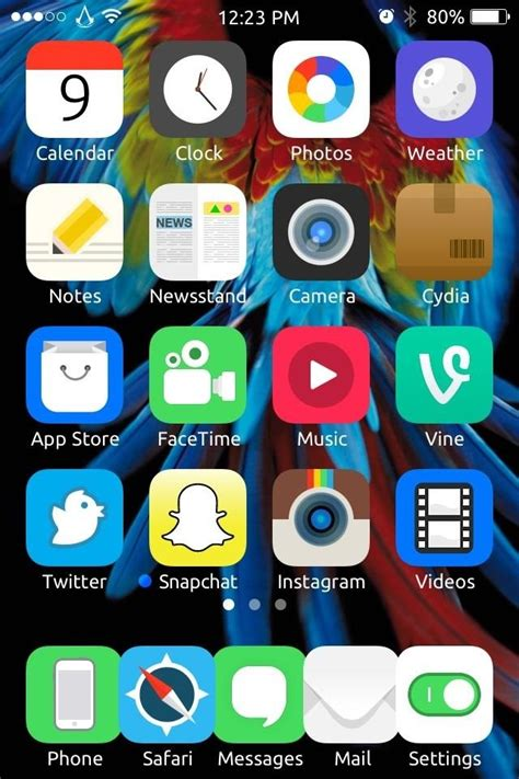 cool phone apps how to get cool cartoony ios 7 icons on your iphone or