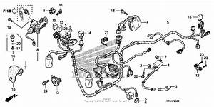 Wire Harness For 2010 Honda Sh150