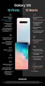 [Infographic] 10 Firsts and 10 Bests from the Galaxy S10 ...