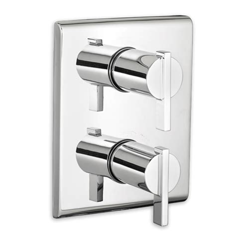 American Standard Thermostatic Shower Valve American Standard T184 740 Times Square Two Handle