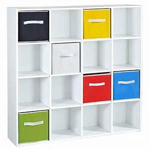 Meuble de rangement 16 cases MOLI Achat / Vente petit meuble rangement Meuble de rangement 16