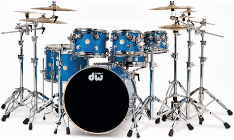 kurnia musik semarang dw drum collector s series blue