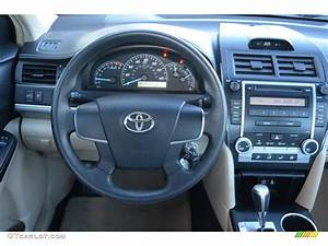 2012 Toyota Camry L Steering Wheel Photos