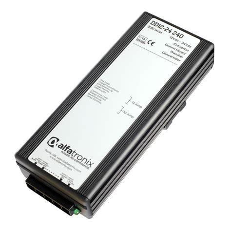 alfatronix powerverter 12vdc to 24vdc 10a converter