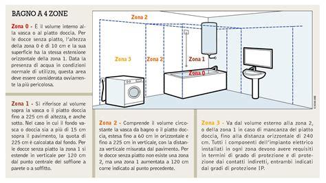 Disegno Impianto Elettrico Appartamento by Schema Bagno A 4 Zone Cose Di Casa