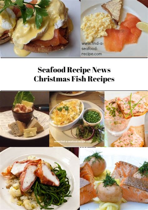 Christmas is no time to hold back. Christmas Fish Recipes