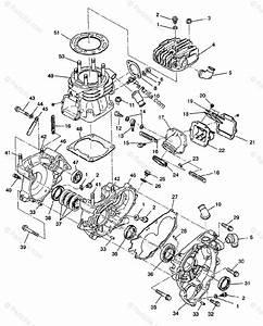 Polaris Atv 1993 Oem Parts Diagram For Crankcase