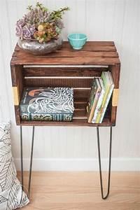 Fabriquer Meuble Bois Facile : 1001 id es et tutos pour fabriquer un meuble en cagette charmant ~ Nature-et-papiers.com Idées de Décoration
