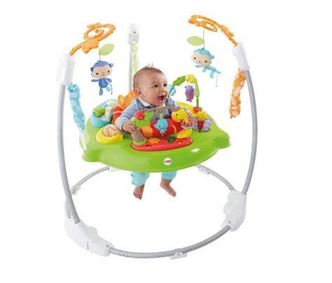 New Fisherprice Rainforest Jumperoo  Baby Swingbouncer