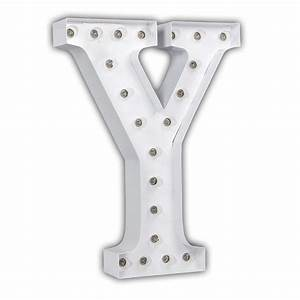 white 24 inch letter y marquee light by vintage marquee lights With 24 inch marquee letters