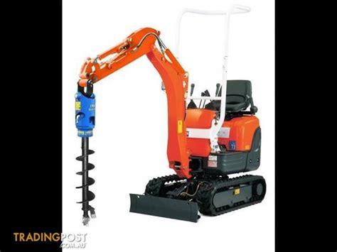 earth drill auger drive unit suit mini excavators  cheap  sale  darra qld earth
