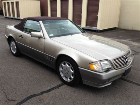 books on how cars work 1995 mercedes benz e class regenerative braking sell used 1995 sl500 mercedes benz 77k hard top in medford new jersey united states
