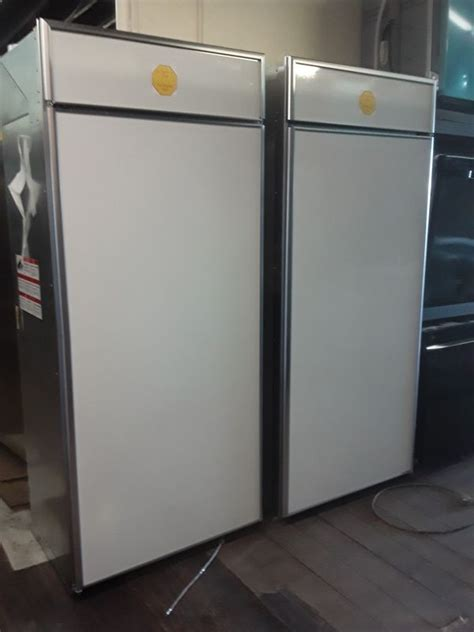 general electric monogram stainless steel  panel ready built  side  side refrigerator