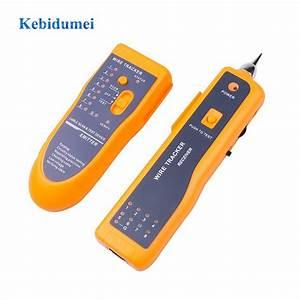 Kebidumei Lan Network Cable Tester Cat5 Cat6 Rj45 Utp Stp