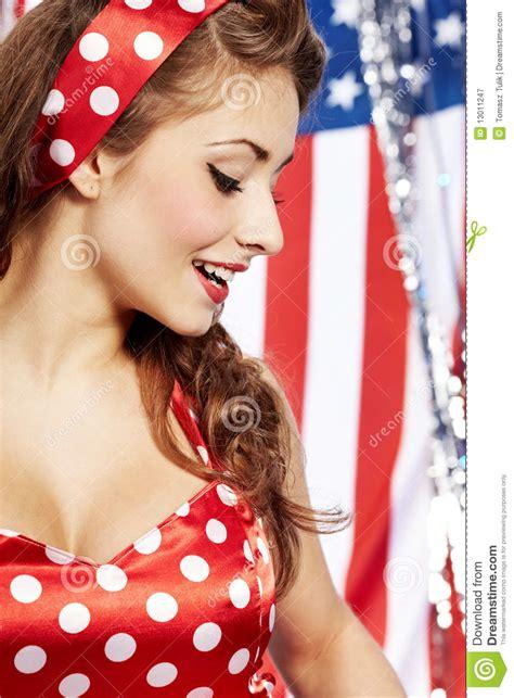 Pretty Pin Up Girl Stock Image Image Of Posing Seductive