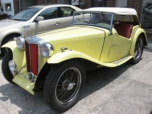 Find Used 1953 Mg Td - Maroon Exterior