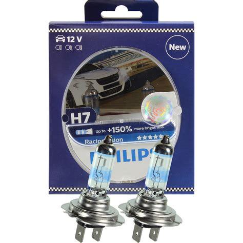 beste h7 le philips racing vision h7 12v 55w px26d 150 2 pi 232 ce set le oule 12972rvs2 ebay