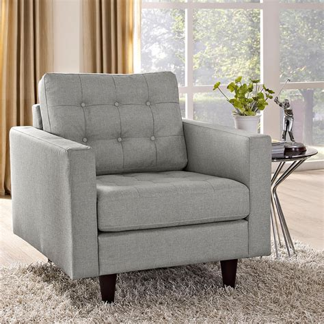 Modern Chairs  Enfield Light Gray Chair Eurway