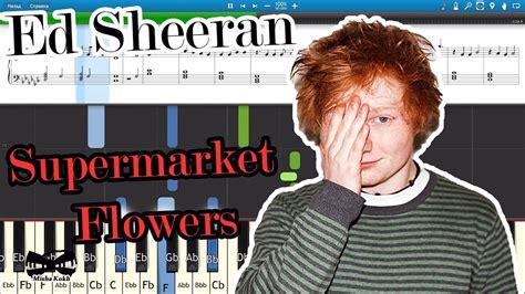 Supermarket Flowers [piano Tutorial