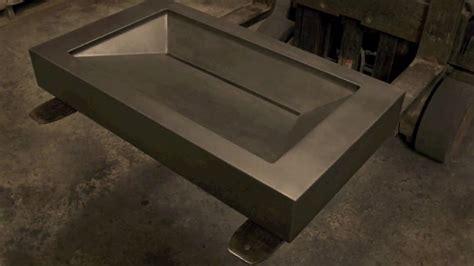 concrete sink molds create   concrete sink