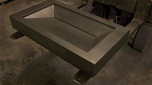 concrete sink molds create your own concrete sink for With concrete bathroom sinks for sale