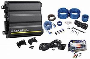 Package  Kicker Cx600 1 1200 Watt Peak  600 Watt Rms Mono