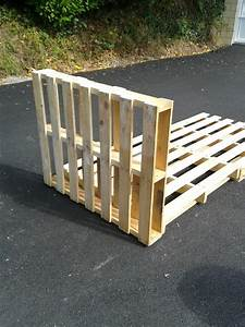 Sommier En Bois : sommier en palette de bois ~ Teatrodelosmanantiales.com Idées de Décoration