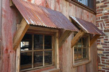 rusted tin design ideas pictures remodel  decor page  metal awning shed corrugated