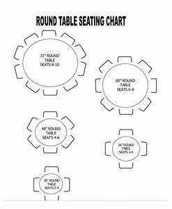 12 Seating Chart Template