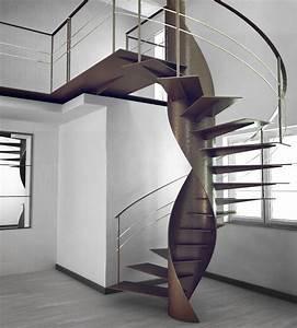 Escalier Colimaon Droit Ou Suspendu 60 Ides De Design