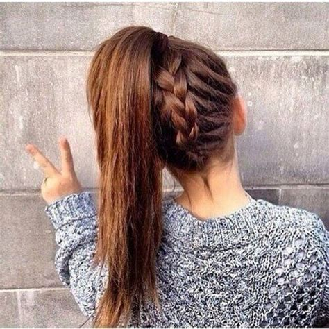 School Hairstyles by 10 Trendy Easy Hairstyles For School Popular Haircuts