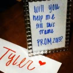 In a Cute Way Asking a Girl to Prom