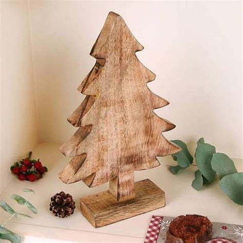 Wooden Decorations - wood crafts tree shaped wooden decoration
