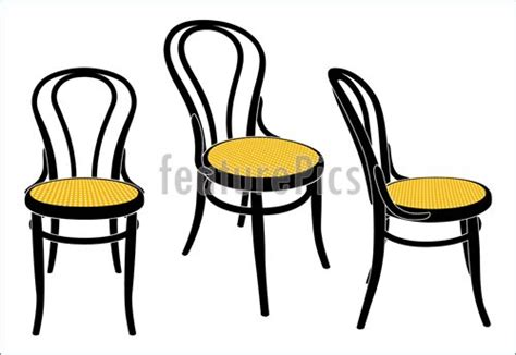 vienna cafe chair stock illustration i2316659 at featurepics