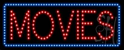 Sign Animated Led Movies Signs Neon Everything